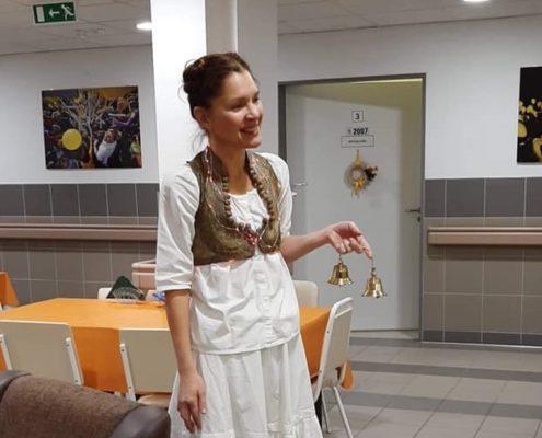 Varga Klári, a Csokonai Színház színművésze